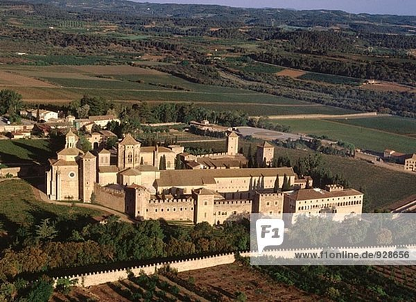 Poblet Kloster. Provinz Tarragona. Spanien