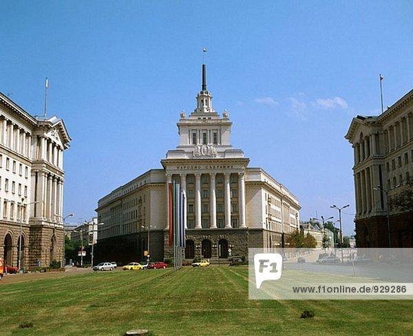 Präsidentenpalast. Sofia. Bulgarien
