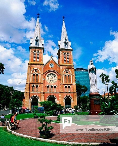 Notre Dame Cathedral in Ho Chi Minh City. Vietnam