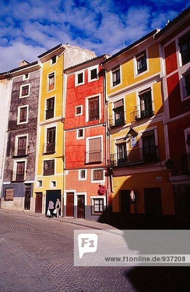 Gebäude Cuenca alt Spanien
