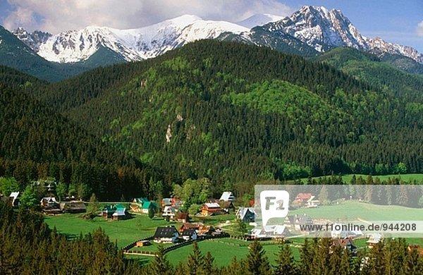 Berg Urlaub Karpaten Polen