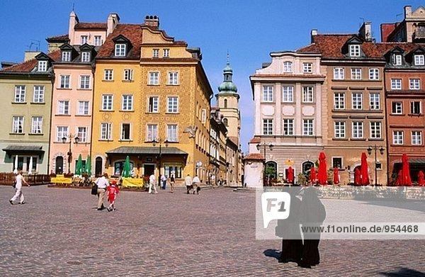 Warschau Hauptstadt Altstadt Polen