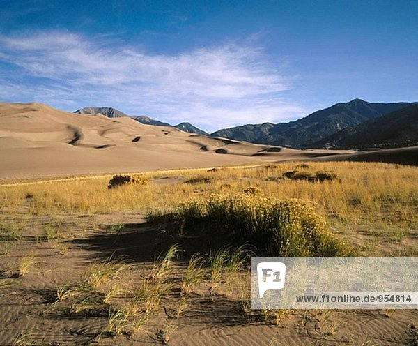 Great Sand Dunes Nationalmonument. Colorado. USA