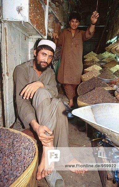 Erdnuss Verkäufer in Peshawar  Pakistan