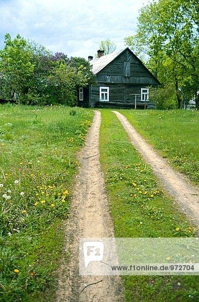 Tradition Bauernhof Hof Höfe Zimmer Region In Nordamerika Litauen