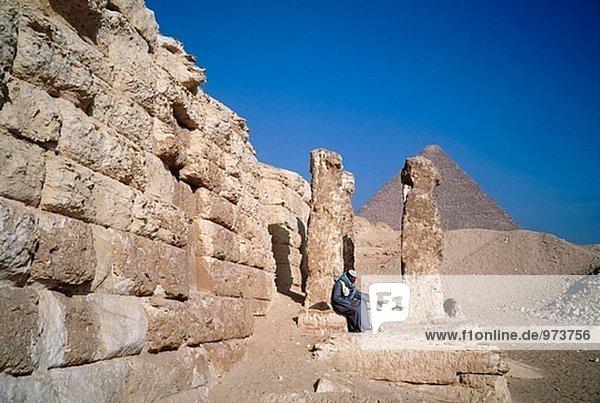 Pyramiden. Gizeh. Kairo. Ägypten