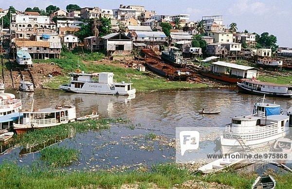 Anblick der Stadt. Manaus  Amazon. Brazilien