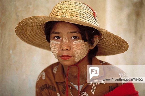 Mingun  in der Nähe von Mandalay. Myanmar.