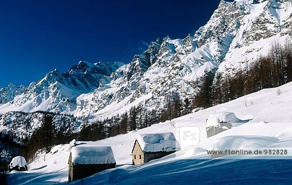 Alpen Italien Piemont