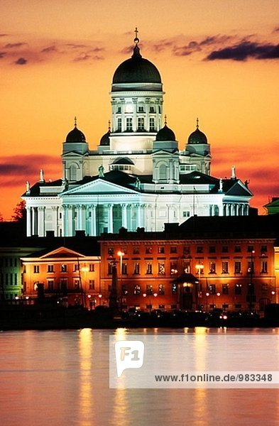 Lutherische Kathedrale. Helsinki. Finnland