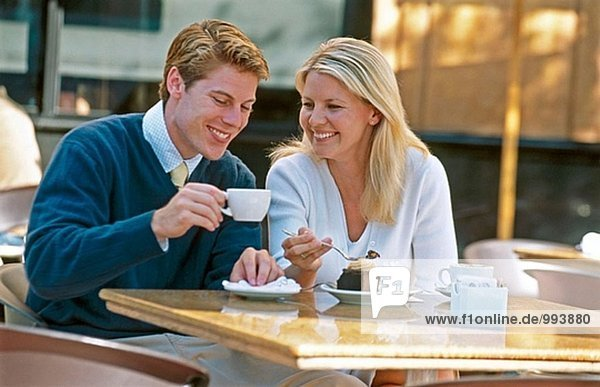 Cafe paar