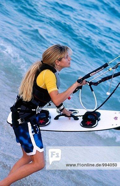 Kite-Surfer girl
