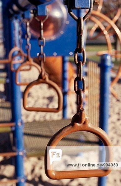Orange/blau Spielplatz Spielzeug