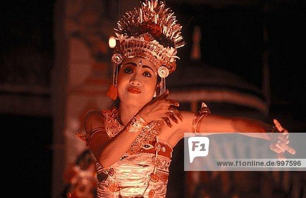 Ramayana Tänzer  Ubud. Bali  Indonesien