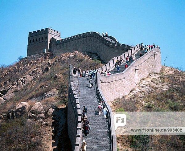 Badaling Abschnitt der großen Mauer. China