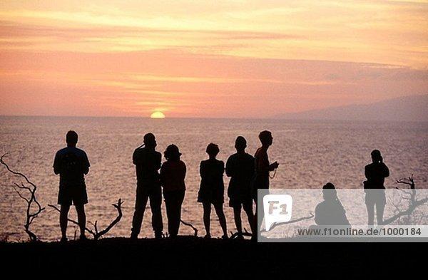 Sunset. Maui island. Hawai