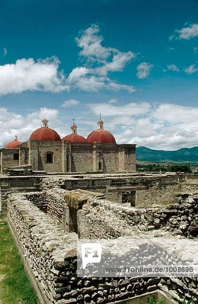 Mitla. Oaxaca  Mexico