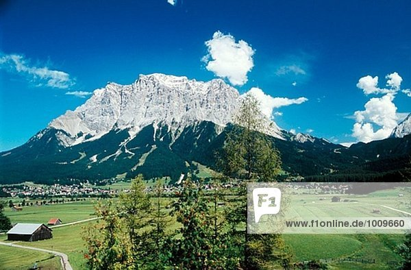 Alpen Zugspitze Österreich Tirol