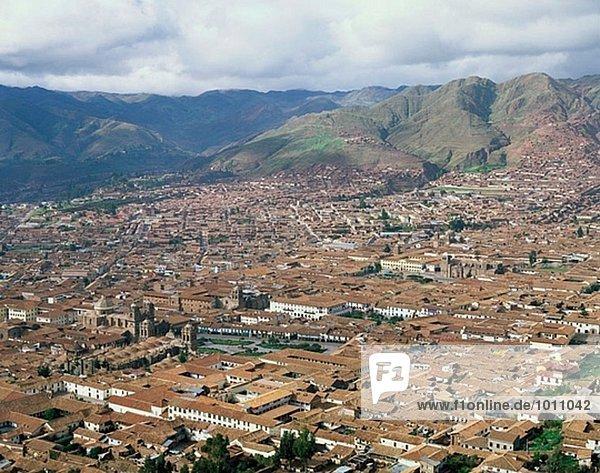 Skyline Skylines Cuzco Cusco Peru