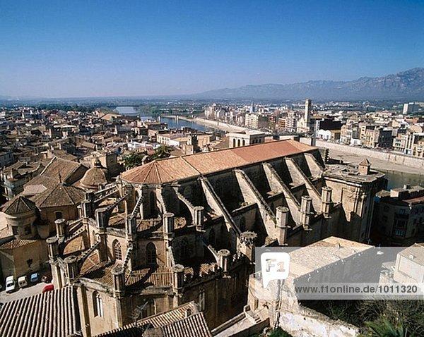 Kathedrale  Tortosa. Baix Ebre. Tarragona Provinz  Katalonien  Spanien
