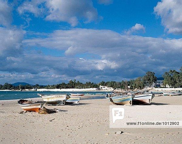 Strand Hammamet Tunesien