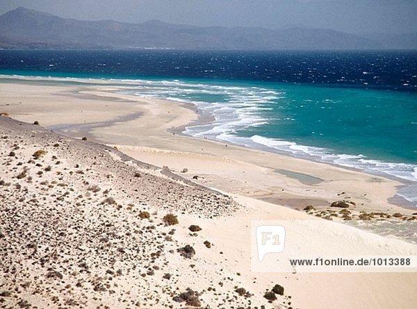 Jandía Beach  Fuerteventura. Kanarische Inseln  Spanien