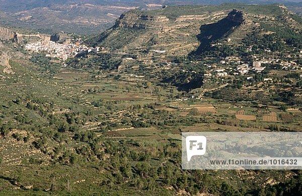 Geographie Spanien Valle