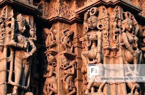 Jain Tempel  Ranakpur. Rajasthan  Indien