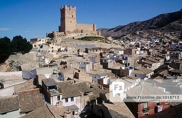 Atalaya castle  XIth century. Villena. Alicante province. Spain.