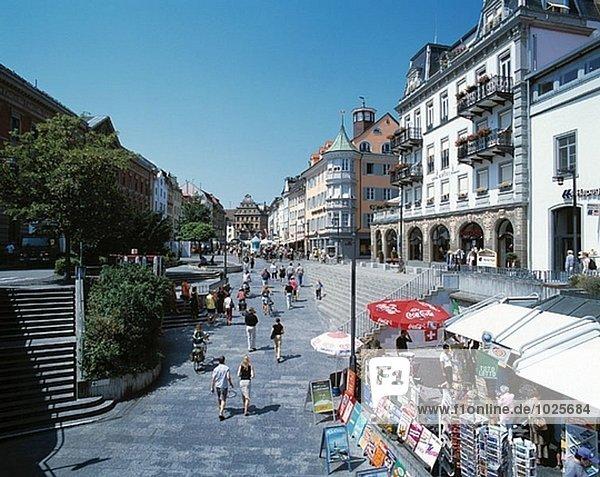 Altstadt  Marktplatz  Konstanz  Baden-Württemberg  Deutschland