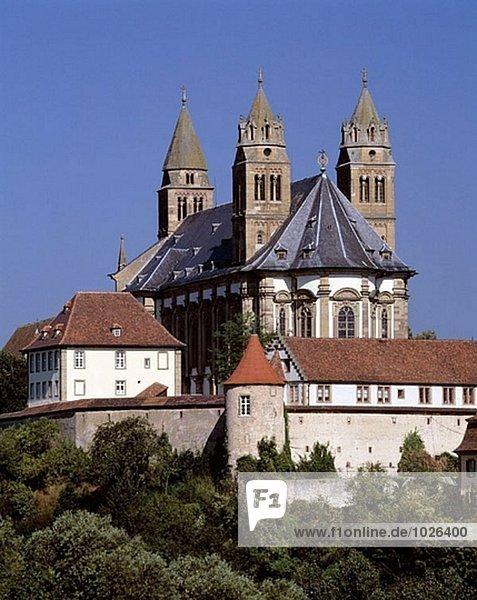 Deutschland  Schwäbisch Hall-Steinbach  Baden-Württemberg  Benediktiner Kloster Comburg