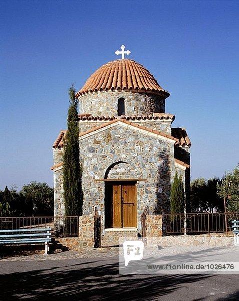 Kirche des Stavrovouni Klosters. Zypern