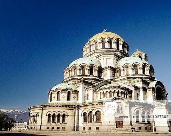 Alexander-Newski-Kathedrale. Sofia. Bulgarien