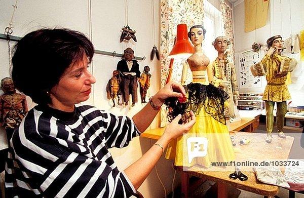 Sehr eine Marionette. Gertl Aicher Theater. Salzburg. Autria