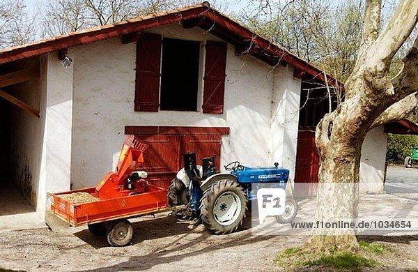 nahe Frankreich Bauernhof Hof Höfe