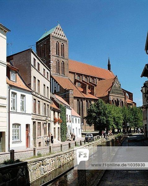 Deutschland Mecklenburg-Vorpommern Wismar