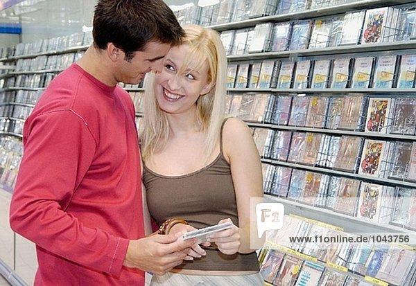 Kaufen Musik CD Einkaufszentrum