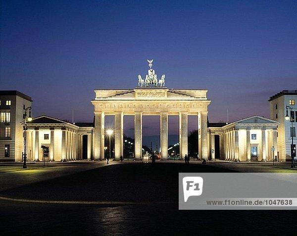 Brandenbrug Gate. Berlin. Germany
