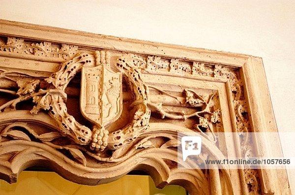 Antiquität Insel Mallorca Palma de Mallorca Innenhof Hof Spanien