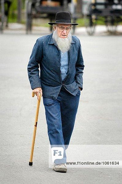 Amish-Lifestyle. Ohio. USA