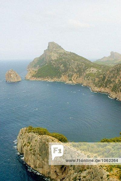El Colomer Viewpoint  Formentor Cape. Mallorca  Balearen. Spanien