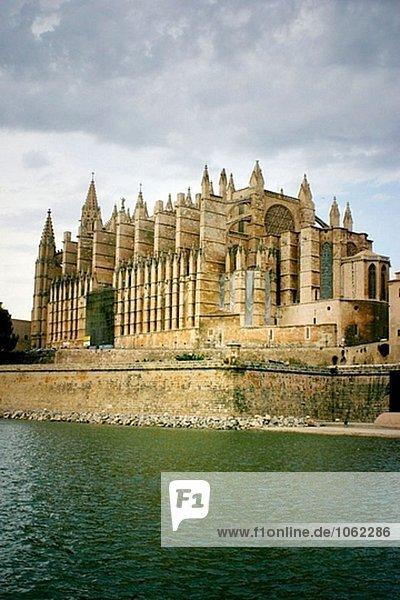 Gotische Kathedrale. Palma De Mallorca  Mallorca  Balearen. Spanien