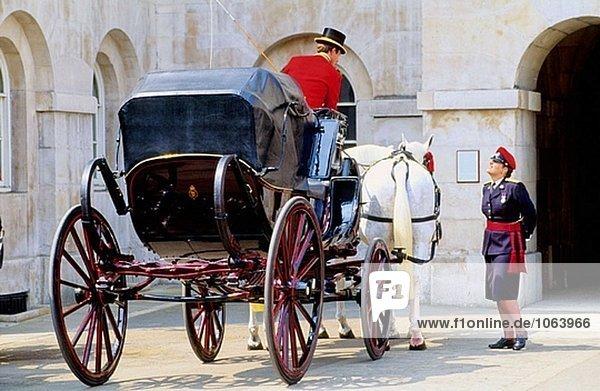 Horse Guards. London. England