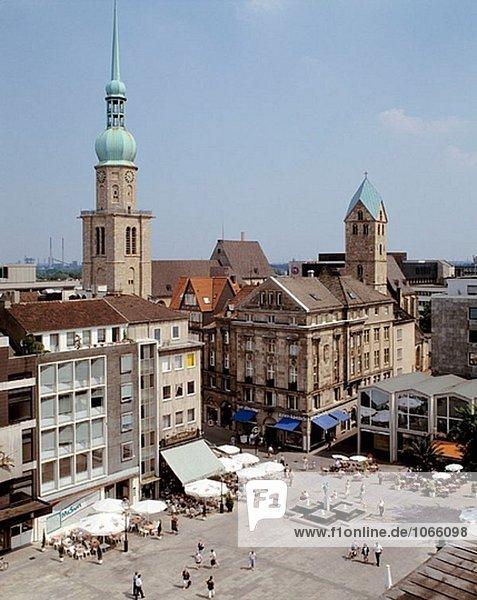 Deutschland: Dortmund  Ruhrgebiet  Nordrhein-Westfalen  alten Marktplatz