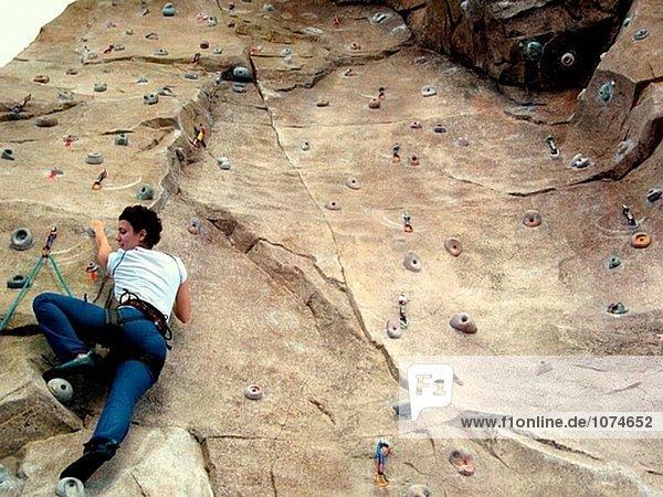 Kletterwand  Universidad Politénica de Valencia. Spanien