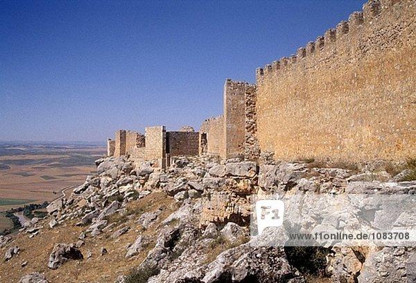 Xth century califal castle of Gormaz. Soria. Spain.