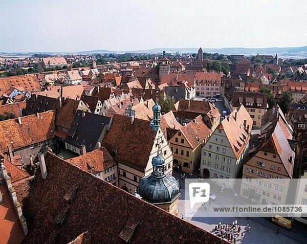 Deutschland  Bayern  Rothenburg Ob der Tauber