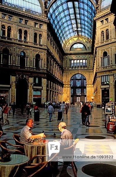 Galleria Umberto. Neapel. Italien
