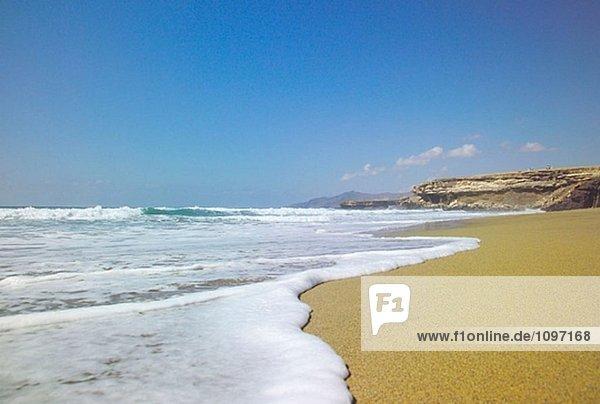 La Pared Strand. Fuerteventura. Kanarischen Inseln. Spanien