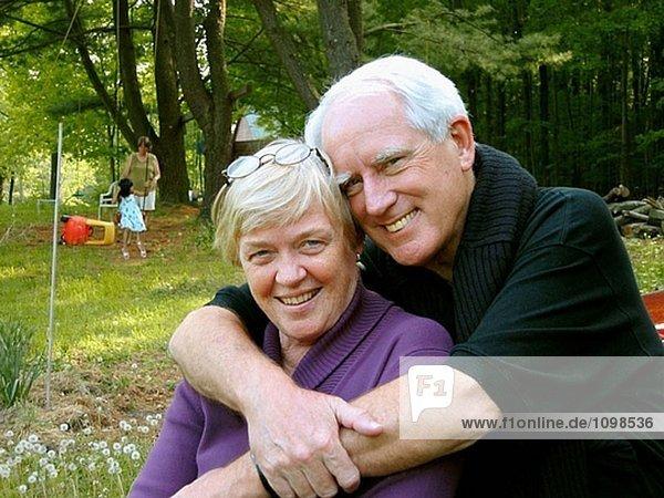 60 Jahre alten Ehepaar
